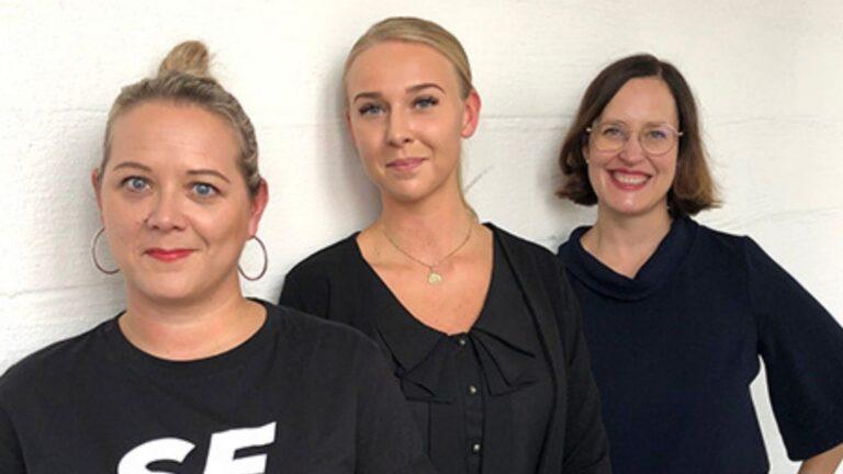 Satu Sutelainen, Nita Austero ja Kati Palsanen