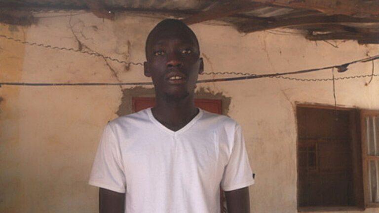 Gambialainen poika