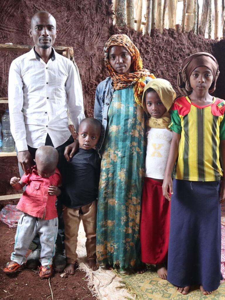 Perhe Etiopiassa