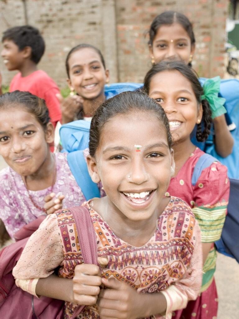 Lapsia intiassa