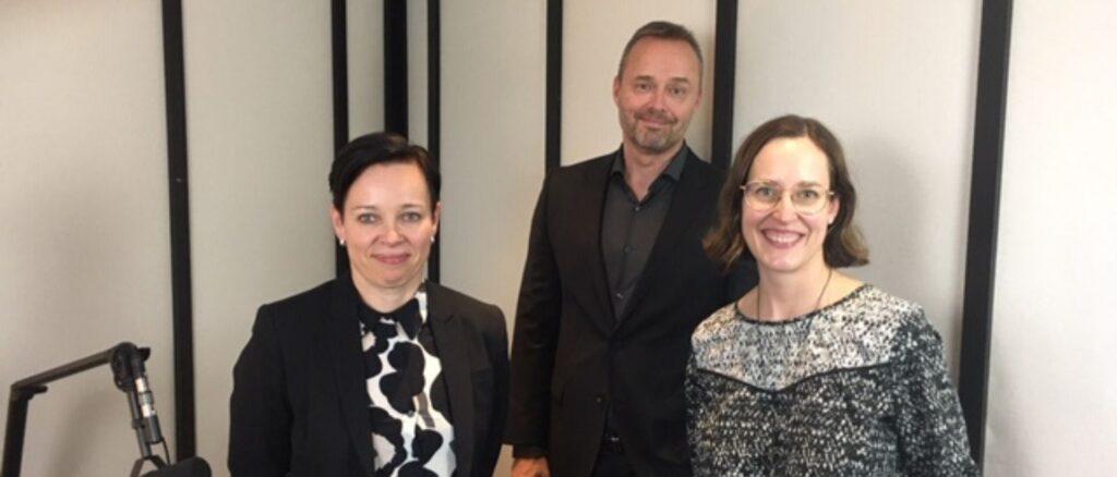 Lea Rankinen, Rolf Ladau ja Kati Palsanen