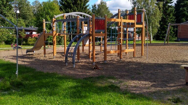 Punkaharjun lapsikylän leikkipaikka
