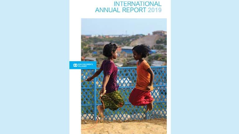 2019 kansainvälisen vuosikertomuksen kansi