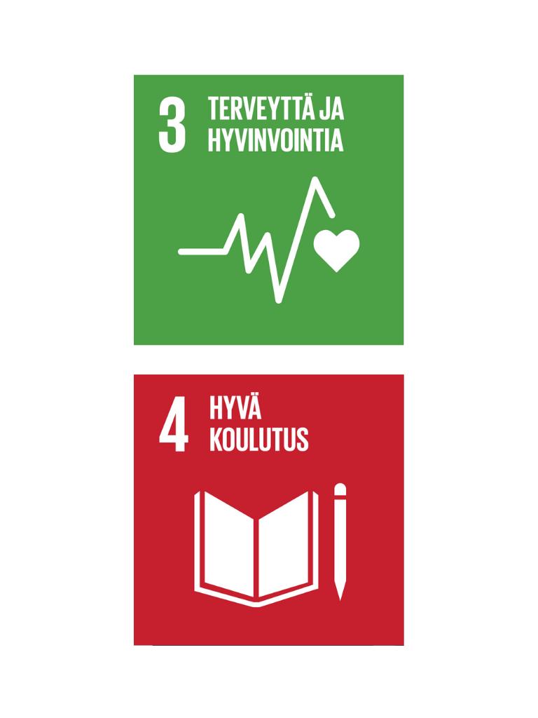 SDG 3 ja 4