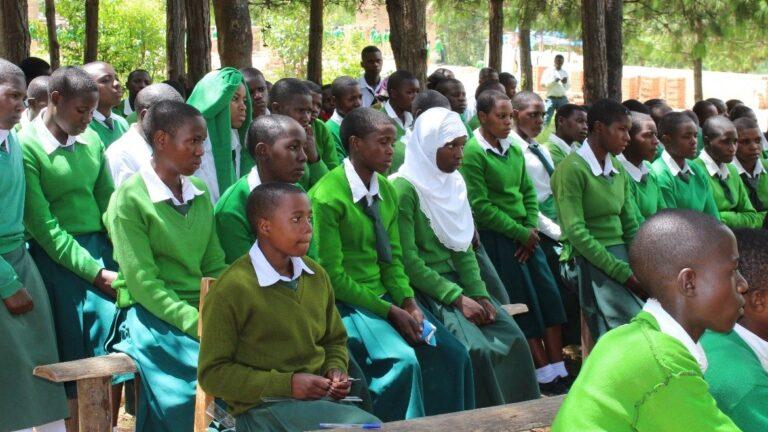 Tansania SHR koulutus