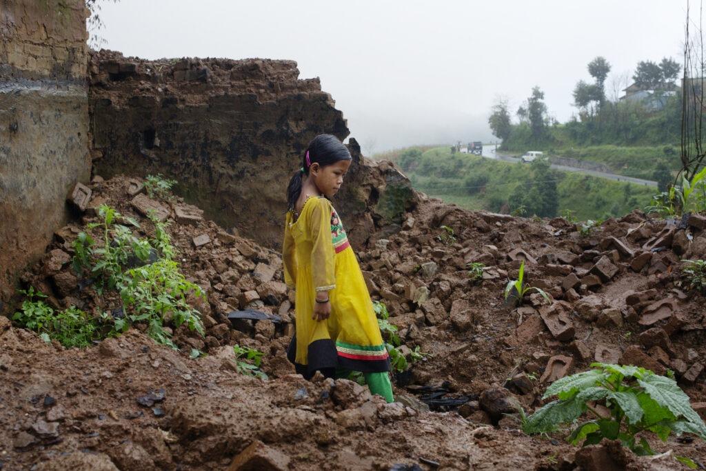Lapsi Nepalissa