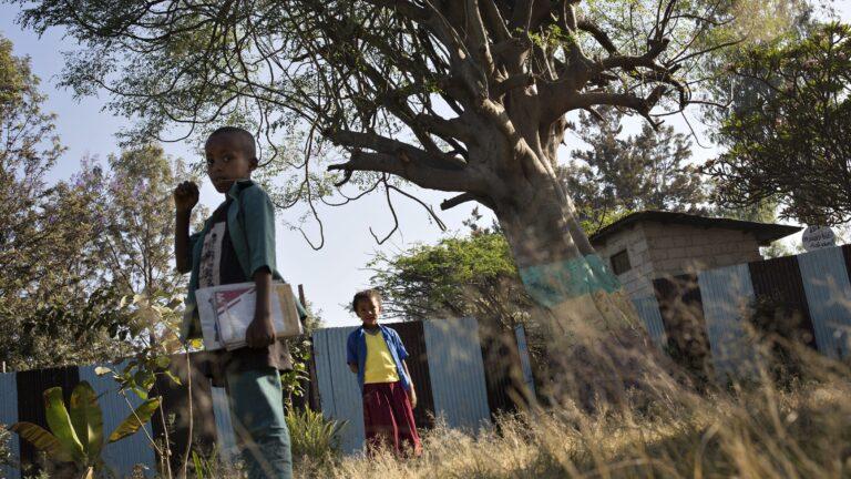 Lapsia Etiopiassa